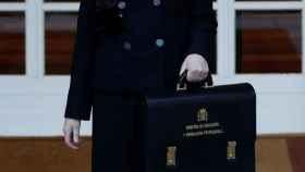 La ministra de Educación, Isabel Celaa, en Moncloa.