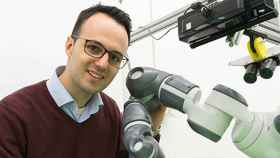 El responsable de Automatización de Fabricación Avanzada de Siemens, Juan Aparicio.