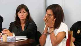 Ana Julia Quezada, durante una de las sesiones del juicio por la muerte violenta de Gabriel Cruz.