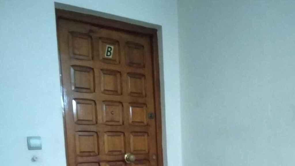 El piso 3º B, donde la chica se instaló con dos norteamericanos y un austriaco el año pasado.