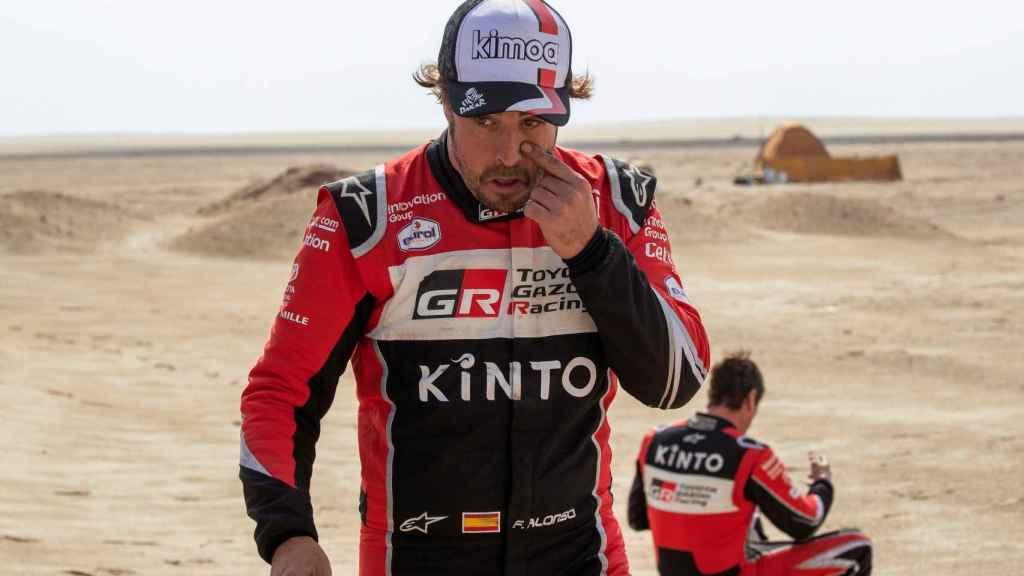 Fernando Alonso, en la etapa 10