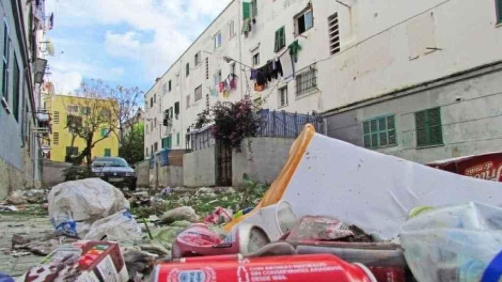Imagen del barrio de Corea, en  Camp Redó (Palma)