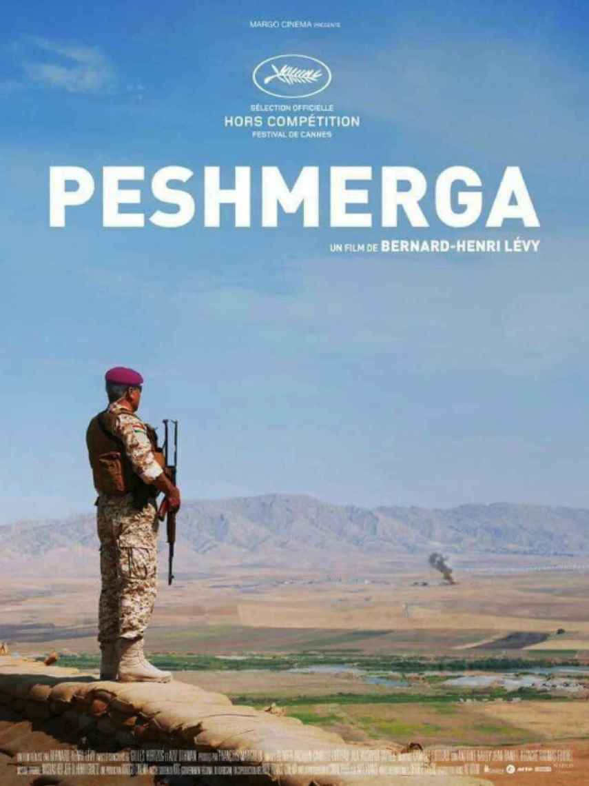 Portada del documental Peshmerga.