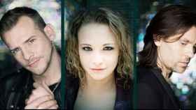 Álex, Tessa y Javián en una imagen promocional de 'Fórmula Abierta'