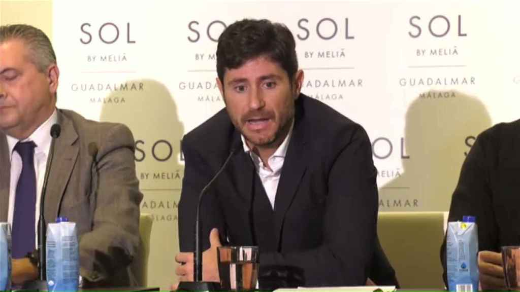 Victor Sánchez del Amo, durante la rueda de prensa