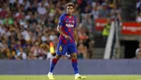 Todibo, en un partido del Barcelona