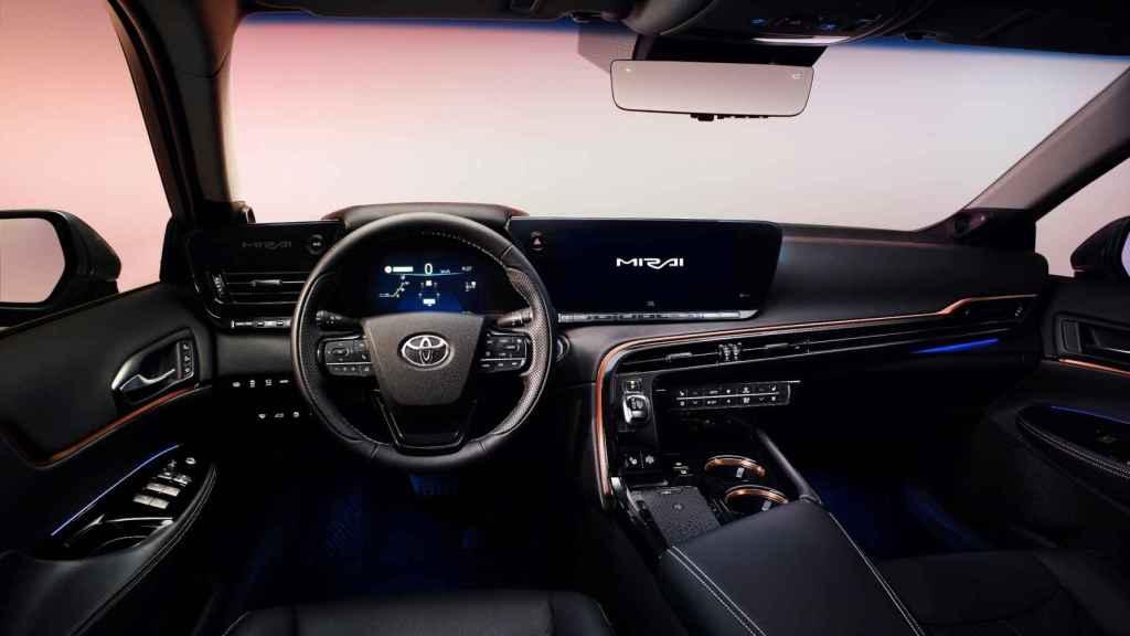 Interior del nuevo Toyota Mirai