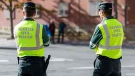 Dos guardias civiles de Tráfico, en una imagen de archivo.