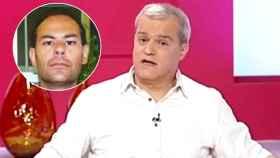 El presentador Ramón García y Antonio Sánchez Gallego, el asesino.