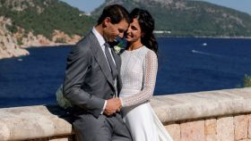 Rafa Nadal y Xisca, el día de su boda.