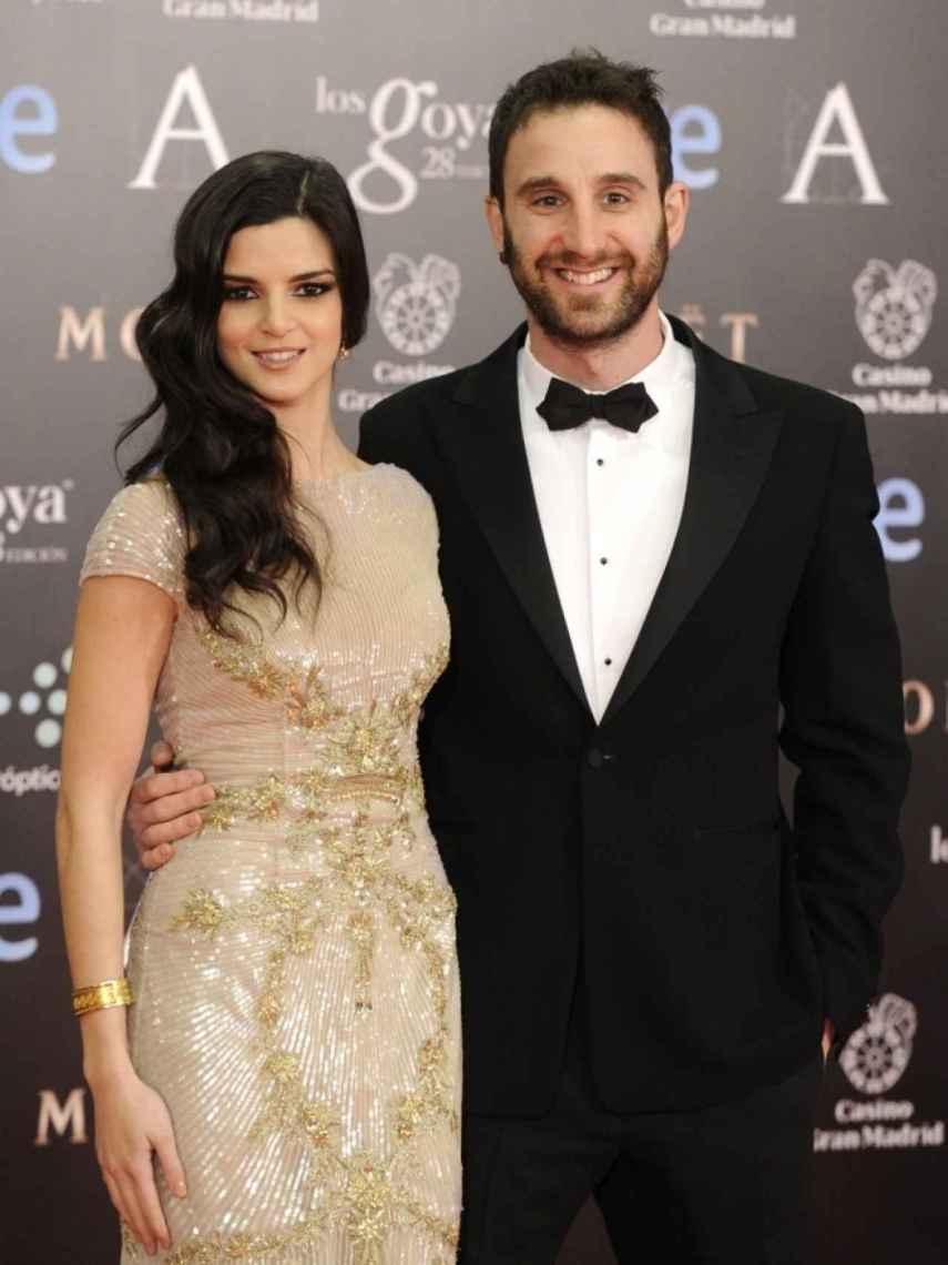 Clara Lago y Dani Rovira en los premios Goya.