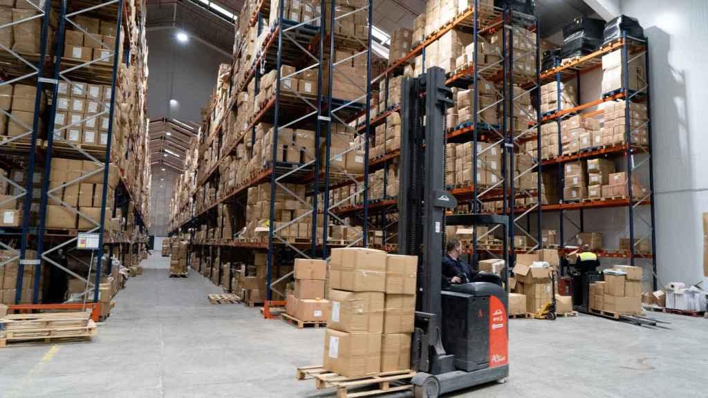 Centro logístico de la empresa TRAMAS.