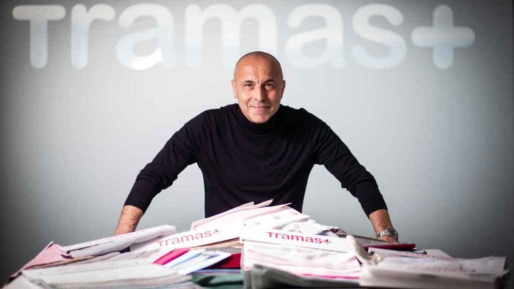 Alberto Hernández Ramírez, empresario de 55 años y director gerente de Tramas.