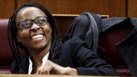 Rita Bosaho fue, en 2015, la primera mujer negra en ser diputada del Congreso.