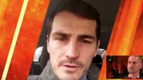 Iker Casillas y Miguel Van Damme