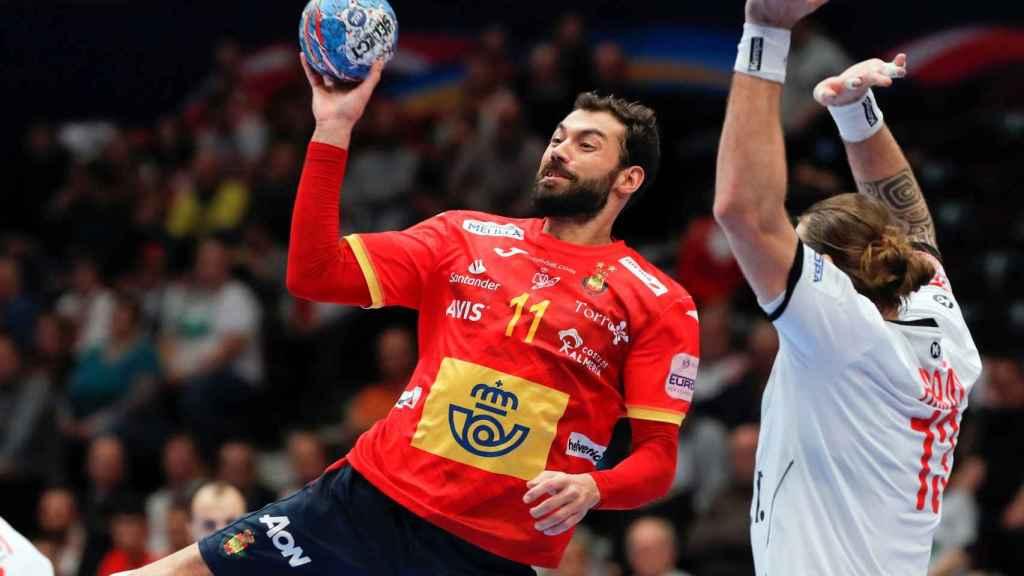 Sarmiento, en un momento del partido