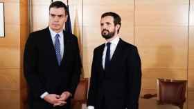 Casado insta a Sánchez a decir si está con la Justicia o con Puigdemont y advierte a Iglesias de que ya no es un tertuliano