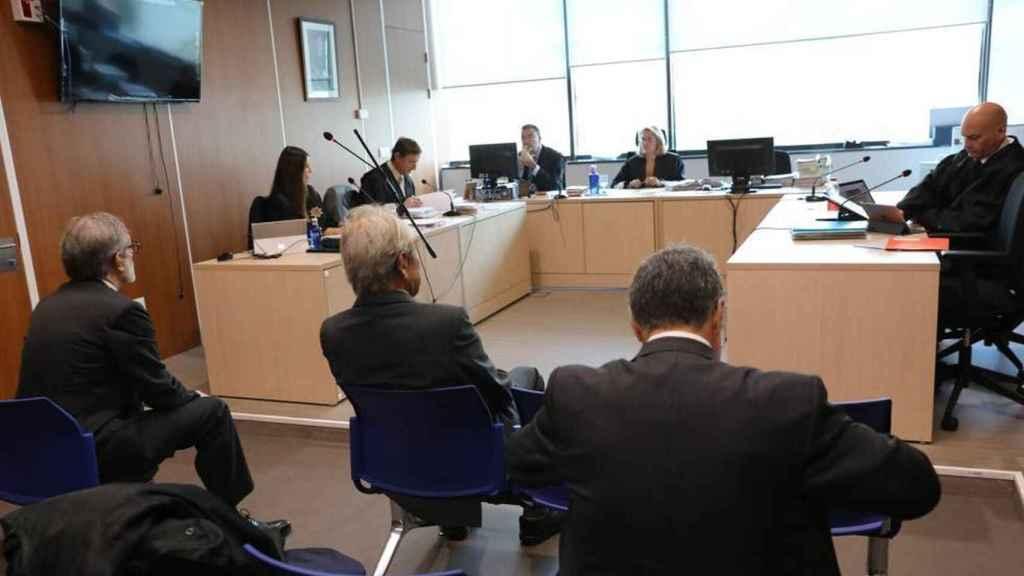 Jaime Botin, en el juicio./