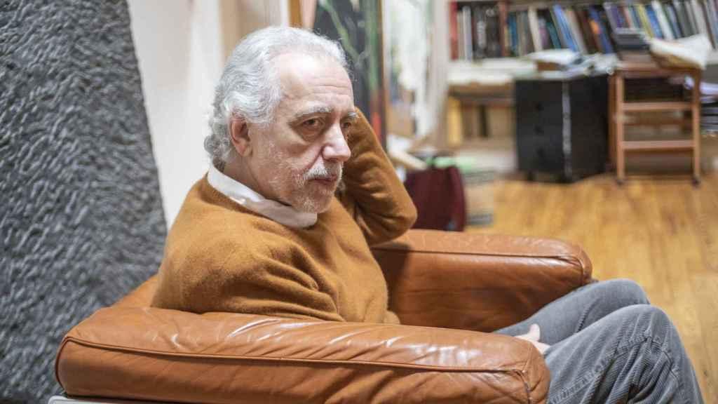 El director Fernando Trueba en una entrevista concedida a EL ESPAÑOL.