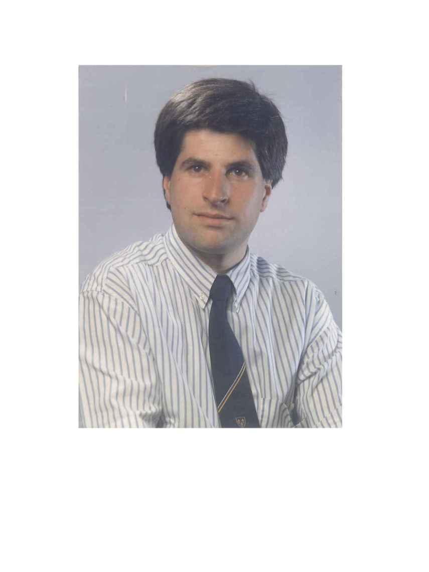 Gregorio Ordóñez, en la imagen de Alianza Popular para las elecciones municipales de 1983.