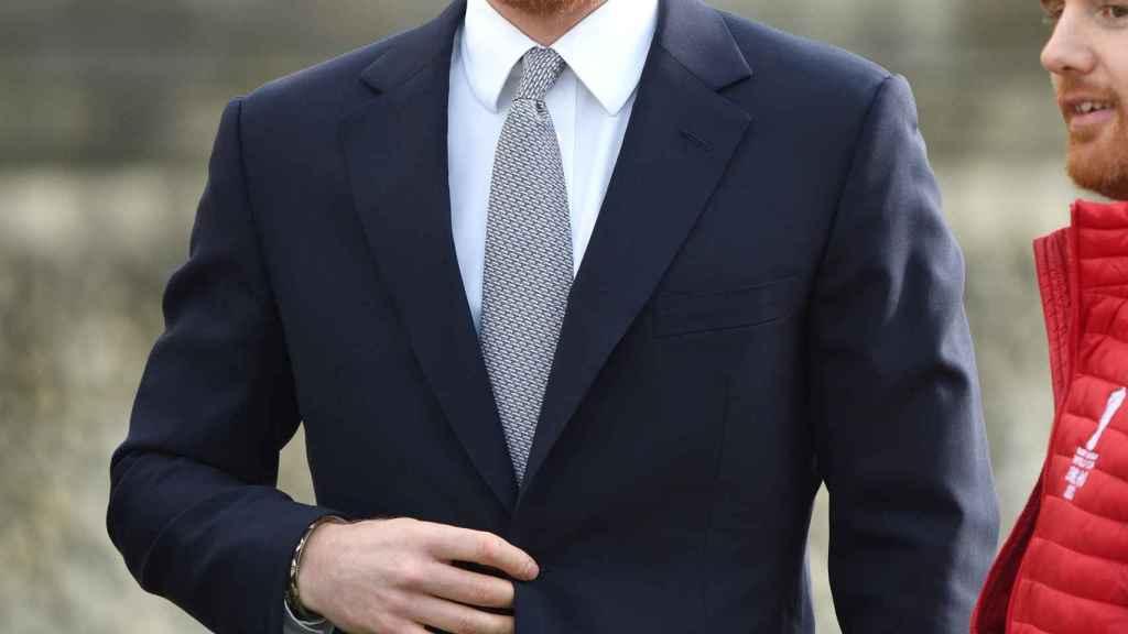 El príncipe Harry de Inglaterra.