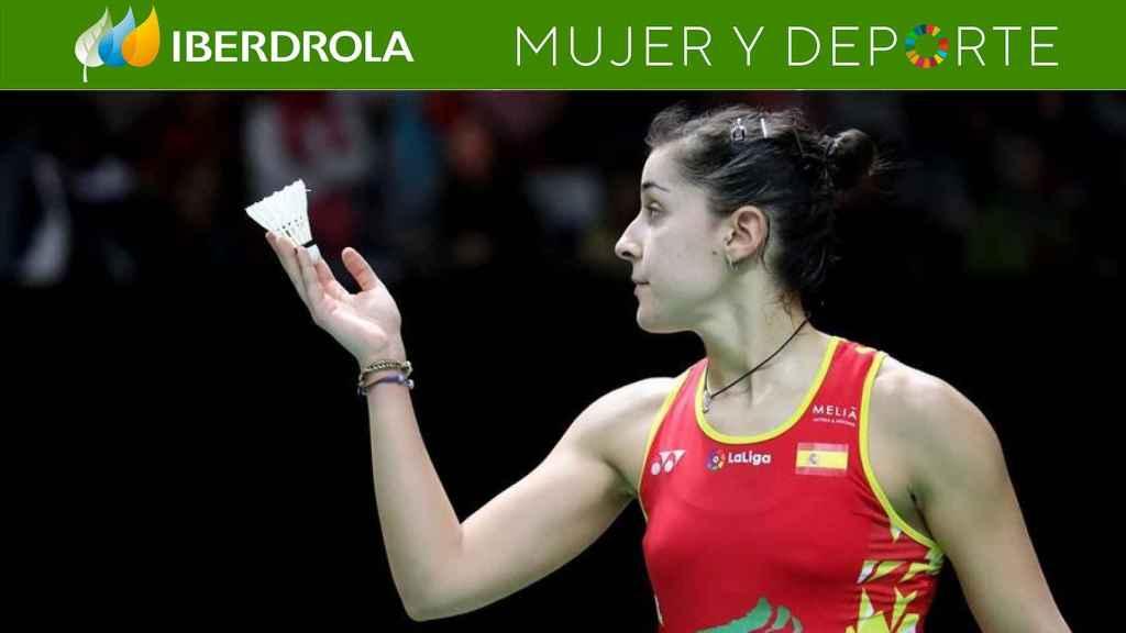 Carolina Marín, en el Masters de Indonesia