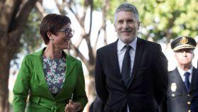 María Gámez y Fernando Grande-Marlaska, en una imagen de archivo.