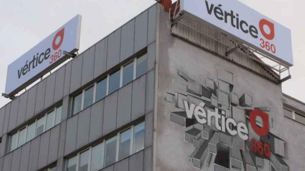 Exteriores de la sede de Vértice 360º.