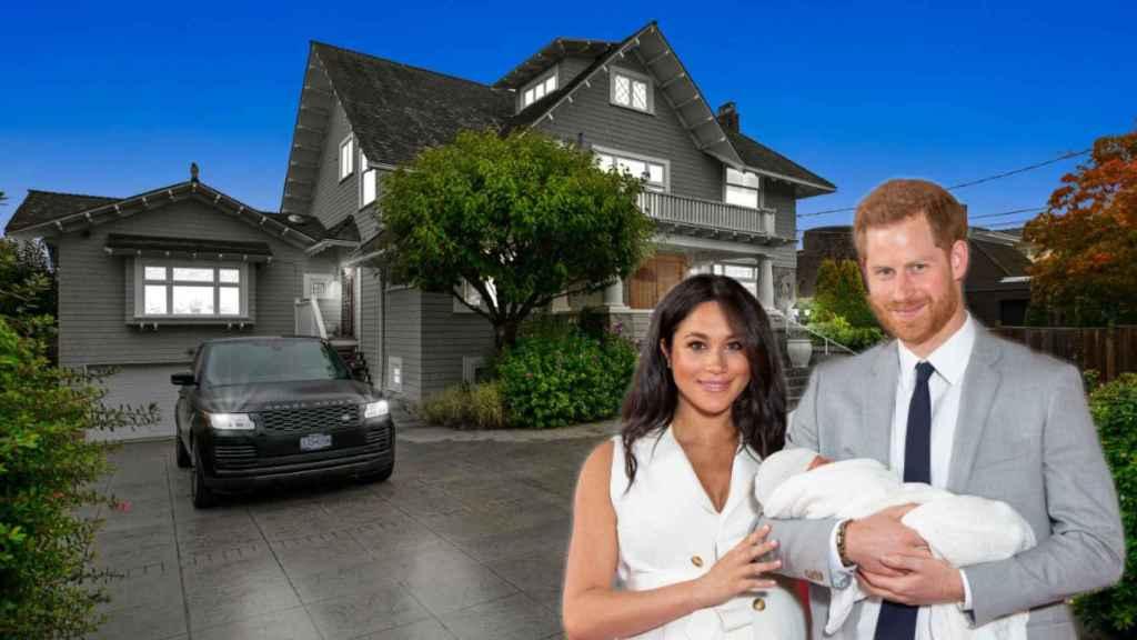 Meghan Markle ya está buscando la que será su nueva casa en Canadá.