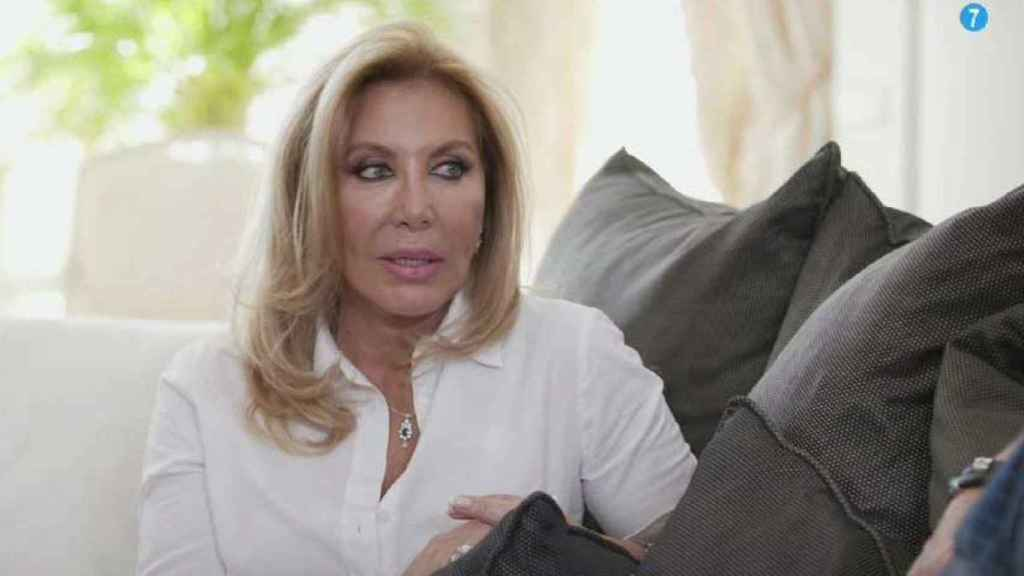 Norma Duval ha sido entrevistada por Bertín Osborne en 'Mi casa es la tuya'.