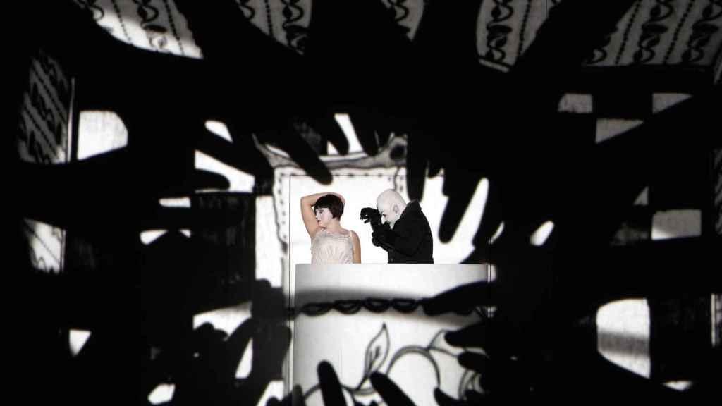 Una imagen de la producción de La Flauta Mágica que desde este domingo se verá en el Teatro Real.