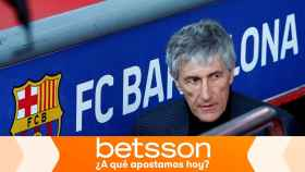 Quique Setién, entrenador del Barcelona