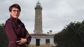 María Gámez vivió durante un tiempo junto a sus diez hermanos y sus padres en el faro de Estepona (Málaga).