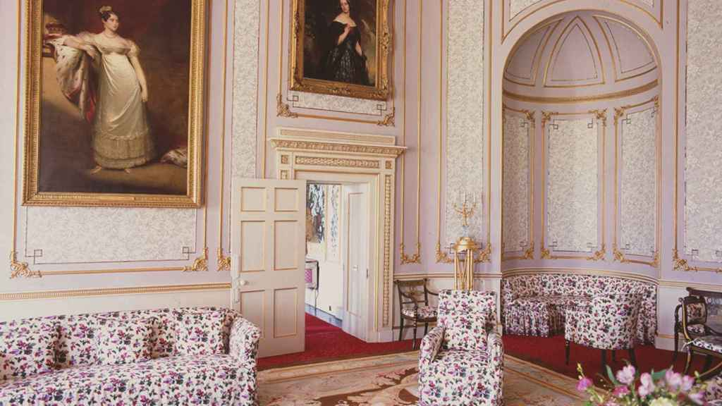 Una de las estancias del Palacio de Frogmore.