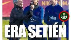 La portada del diario Mundo Deportivo (19/01/2020)