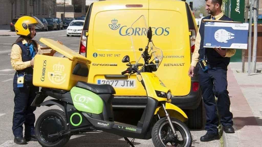 Repartidores de Correos en una imagen de archivo.