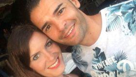 La víctima, Judith Sánchez, junto a su expareja, Carlos Portero, quien le ha quitado la vida.
