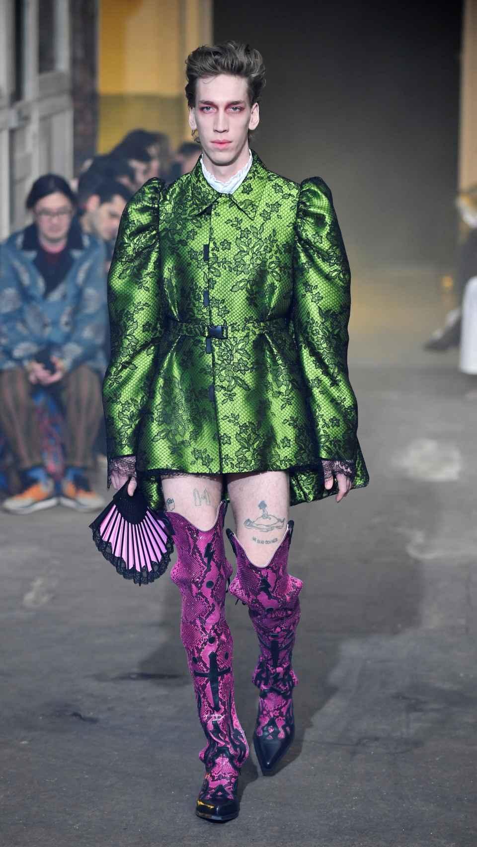 Palomo Spain se ha inspirado en 'El Greco' y en la Ruta del Bakalao para su nueva colección.