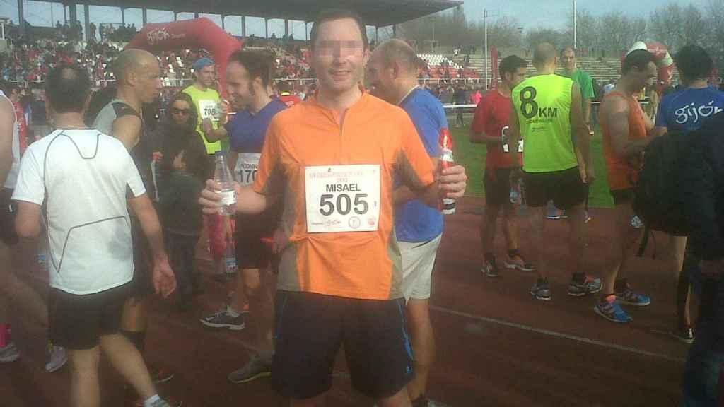 Misael era un gran aficionado del deporte, sobre todo del 'running'.