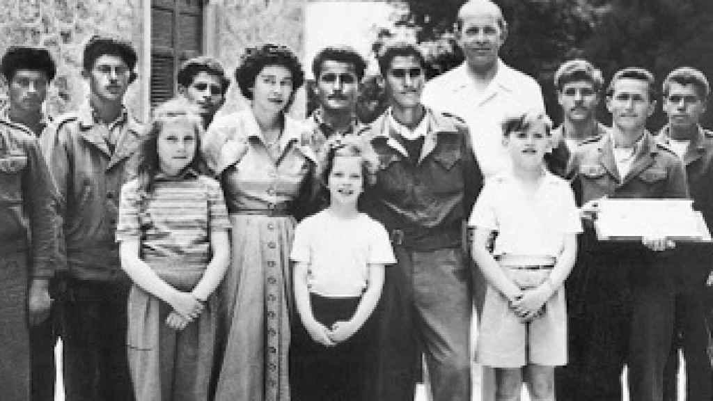 La familia, en 1950.