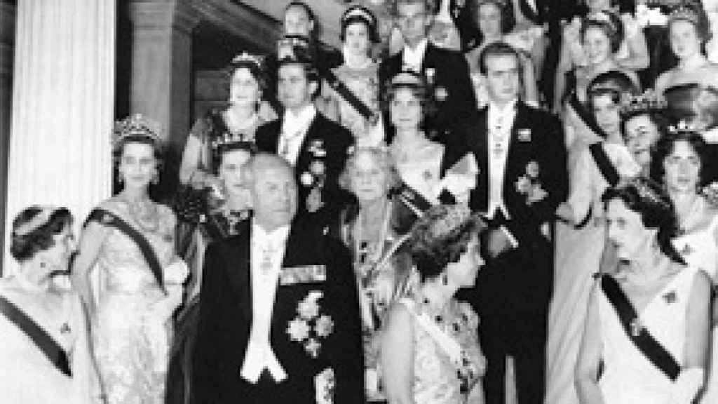 La boda de la Reina Sofía y Juan Carlos.