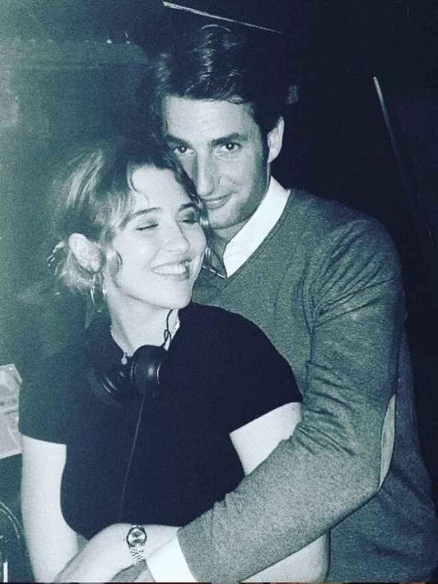 Alba Díaz y Javier Calle en una imagen de su Instagram.