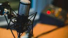 Micrófono de radio, en una imagen de archivo.