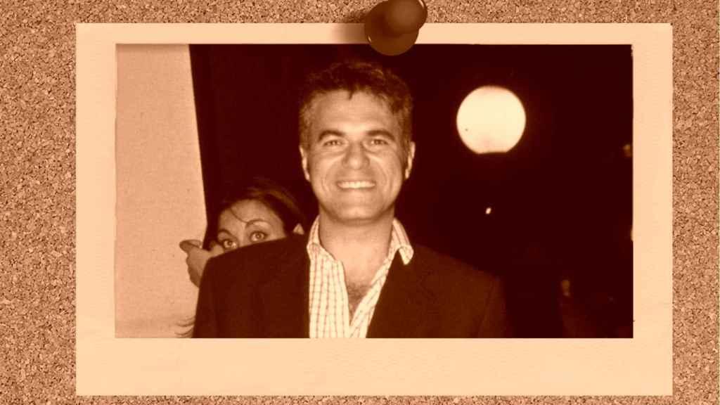Agustín Bravo en un montaje de JALEOS.
