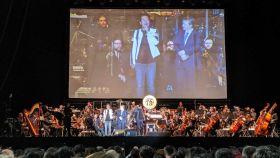 Escena del concierto de Dragon Ball en Madrid.