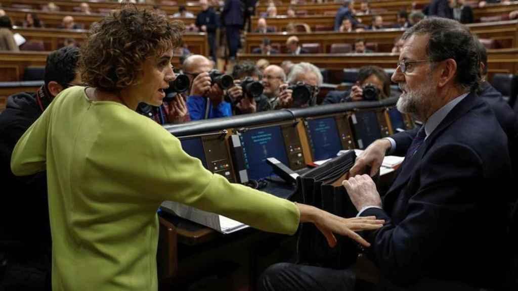 Dolors Montserrat, exministra de Sanidad en el Gobierno de Mariano Rajoy.