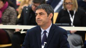 Josep Lluís Trapero durante el juicio en la Audiencia Nacional.
