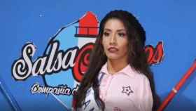 La 'miss' Ana Gabriela Molina.