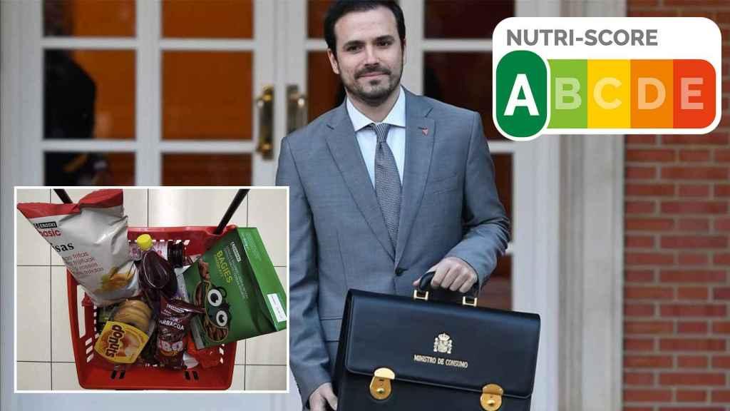 Alberto Garzón, ministro de Consumo, y la nueva cesta de la compra.