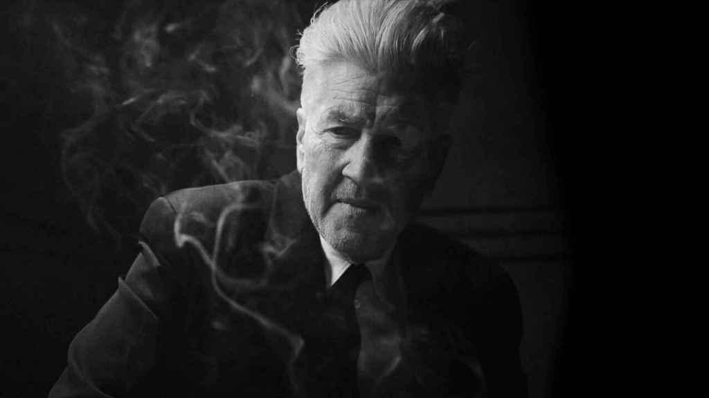David Lynch en su cortometraje para Netflix.